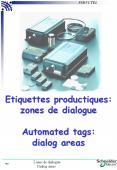 Etiquettes productiques: zones de dialogue Automated tags: dialog areas PowerPoint PPT Presentation