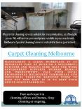 Carpet Steam Cleaning Melbourne PowerPoint PPT Presentation