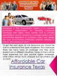 Cheapest Auto Insurance In Texas