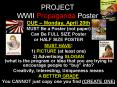 PROJECT WWII Propaganda Poster PowerPoint PPT Presentation