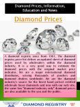 Diamond Pricing PowerPoint PPT Presentation