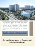 Florida Real Estate Licensing PowerPoint PPT Presentation