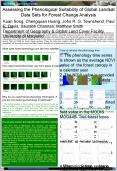 Assessing the Phenological Suitability of Global Landsat Data Sets for Forest Change Analysis PowerPoint PPT Presentation