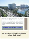 Florida Real Estate Sales Associate License PowerPoint PPT Presentation