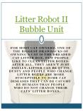 Litter Robot II Bubble Unit PowerPoint PPT Presentation
