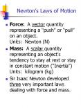 Newton PowerPoint PPT Presentation