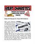 Beat Diabetes (1) PowerPoint PPT Presentation