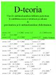 D-teoria PowerPoint PPT Presentation