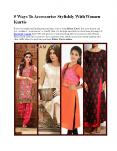 5 Ways to accessories stylishly With Women Kurtis (1) PowerPoint PPT Presentation