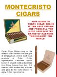 montecristo cigars PowerPoint PPT Presentation