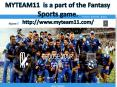 Fantasy Cricket | My Team 11 | Live Cricket Score PowerPoint PPT Presentation
