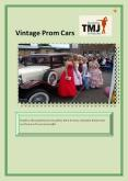 Vintage Prom Cars PowerPoint PPT Presentation
