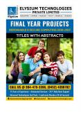 IEEE 2016-17 Final Year Projects ::Updated TOP List of Dependable and Secure Computing – Titles & Abstracts for ME/MTech,BE/Tech Students PowerPoint PPT Presentation