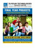 FINAL YEAR PROJECTS 2016-17 :: Latest Top list Matlab Digital image Processing Project Titles with Abstracts for ME/MTech,BE/BTech PowerPoint PPT Presentation