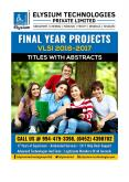 Final Year Projects 2016-17 Latest List VLSI IEEE Projects for Engineering Students (BE/BTech & ME/MTech) PowerPoint PPT Presentation