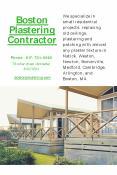 Boston Plastering Contractor PowerPoint PPT Presentation