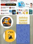 Antivirus Support Number PowerPoint PPT Presentation