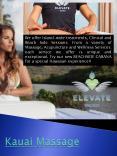 massages in kauai PowerPoint PPT Presentation