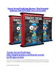 Tracks Social Profit App review & (GIANT) $24,700 bonus PowerPoint PPT Presentation