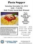 Pasta Supper PowerPoint PPT Presentation
