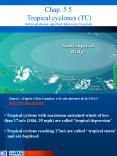 Chap. 5.5  Tropical cyclones (TC) (terme g PowerPoint PPT Presentation