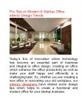 Office Interior Design Tips by Delhi Best Interior Designers PowerPoint PPT Presentation