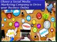 Choose a social media marketing company to drive your business online PowerPoint PPT Presentation