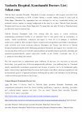 Yashoda Hospital, Kaushambi Doctors List | Sehat.com PowerPoint PPT Presentation