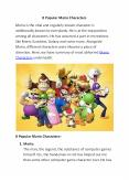 8 Popular Mario Characters PowerPoint PPT Presentation