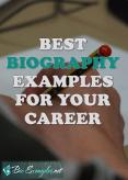 Best Biography Examples for Your Career PowerPoint PPT Presentation