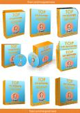 Box Cover_3D Ebook Cover Report Box CD DVD Template PowerPoint PPT Presentation