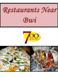 Restaurants Near Bwi PowerPoint PPT Presentation