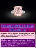Engagement Rings In Dallas PowerPoint PPT Presentation