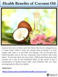 Health Benefits of Coconut Oil | Sehat PowerPoint PPT Presentation