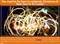 You need to be here to celebrate Christmas & New Year in Sri Lanka! (1) PowerPoint PPT Presentation