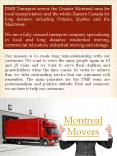 Montreal Moving (1) PowerPoint PPT Presentation