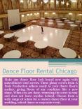 Portable Dance Floor Rental PowerPoint PPT Presentation