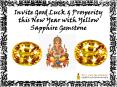 Invite Good Luck and Prosperity this New Year with Yellow Sapphire Gemstone PowerPoint PPT Presentation