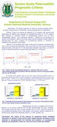 Severe Acute Pancreatitis: Prognostic Criteria PowerPoint PPT Presentation