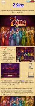 7 Sins Slot Game PowerPoint PPT Presentation