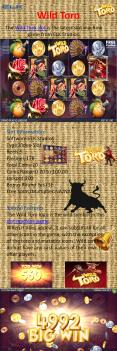 Wild Toro slot game PowerPoint PPT Presentation