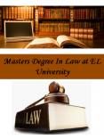 Masters Degree In Law at EL University PowerPoint PPT Presentation