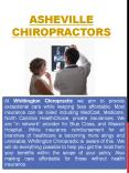 Chiropractic Care Asheville PowerPoint PPT Presentation