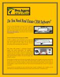 Do You Need Real Estate CRM Software? PowerPoint PPT Presentation
