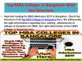 Top MBA Colleges in Bangalore With Fee Structure PowerPoint PPT Presentation