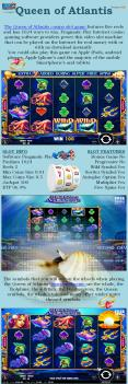 Queen of Atlantis new slot game by Pragmatic Play