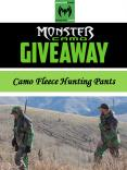Camo Fleece Hunting Pants