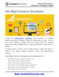 Hire BigCommerce Developer | BigCommerce Development Company in India PowerPoint PPT Presentation