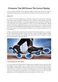 5 Features That Will Ensure The Correct Skating (1) PowerPoint PPT Presentation
