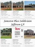 Jameston Place Subdivision Jefferson GA
